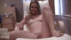 Blonde amatuer wife striptease 2