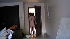 Nude At Door 2