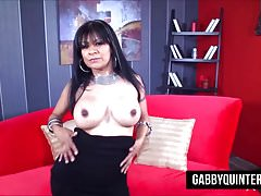 Mexican Nympho Gabby Quinteros Fucked Hard By Evan Stone