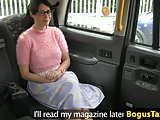 Spex brit sucks and rides cock to pay for cab