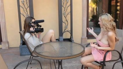 An interview with a lesbian.
