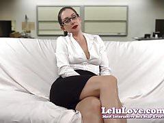Lelu Love-Hot For Teacher JOI Masturbation Encouragement