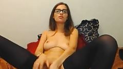Naughty cutie in glasses