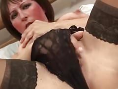 DIRTY OLD MOM IN SEXY LINGERIE