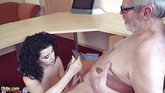 Old and young cumshot compilation Teenagers oral sex's Thumb