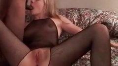 Cuckolds sissys wife fucking BBC Husband cleans up jizz