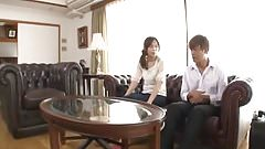 Japanese wife cheating with Mo