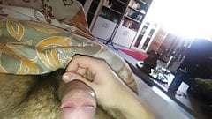 Me wank on Webcam