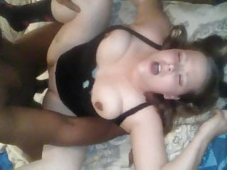 She loves a bbc deep inside her pussy