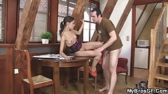 He tricks brothers wife into sex