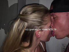 Dom and Diana Kissing Video 4