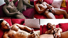 Enzo slips off his shorts revealing a thick, uncut anaconda
