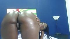 Negra Bunduda Na Webcam