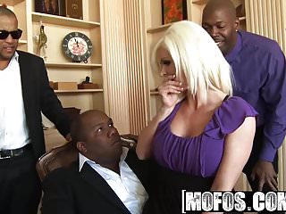Mofos - Milfs Like It Black - Campaignin for Cock starring