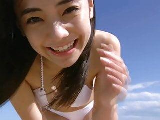 KANA Cute Asian Girl Beach Angel (Non-Nude)
