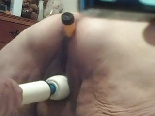 vibe in my ass and new toy used on me