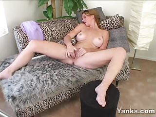 Chesty Skye Toys Her Puss