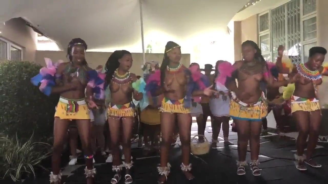 Busty Zulu Girls Dancing Topless At A Ceremony Hd Porn 3A Es-2702