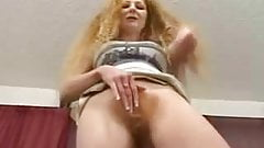GAIL: Red hairy pussy milfs