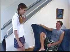 STP3 Teen Gets Gets Fucked When Her Boyfriend Turns Up !