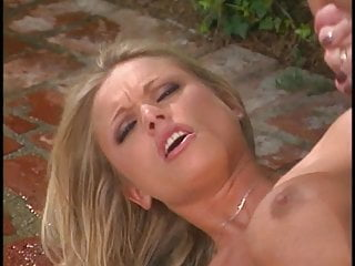 Briana Banks gets her large tits fucked by cock before hard anal fuck