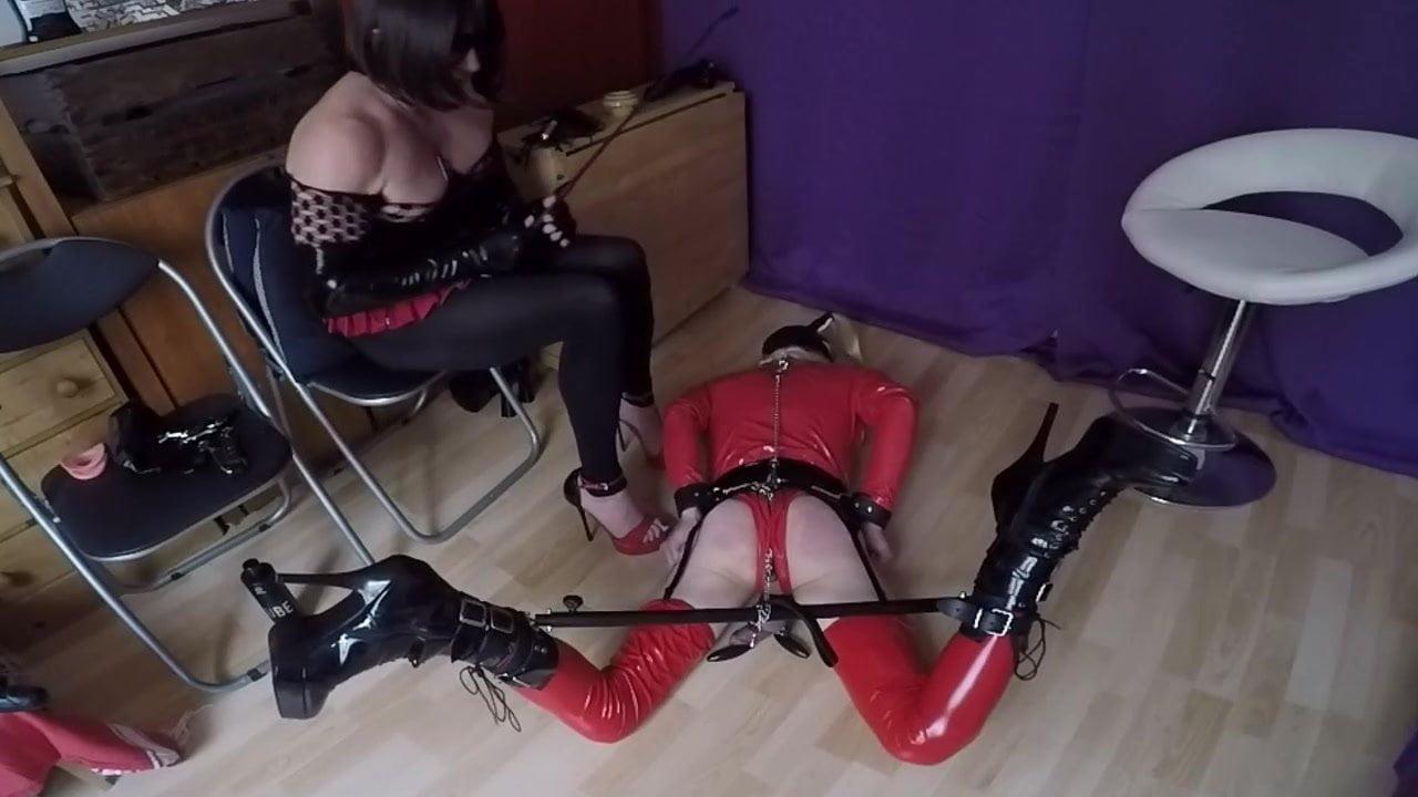 whipping my slut