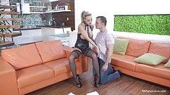 XXXexclusive - Kinky Nathaly Heaven dominates her boyfriend