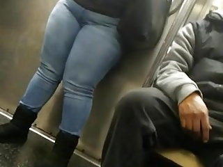DAMN....Her phat thick legs
