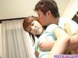 Young Shizuku goes dirty on cock