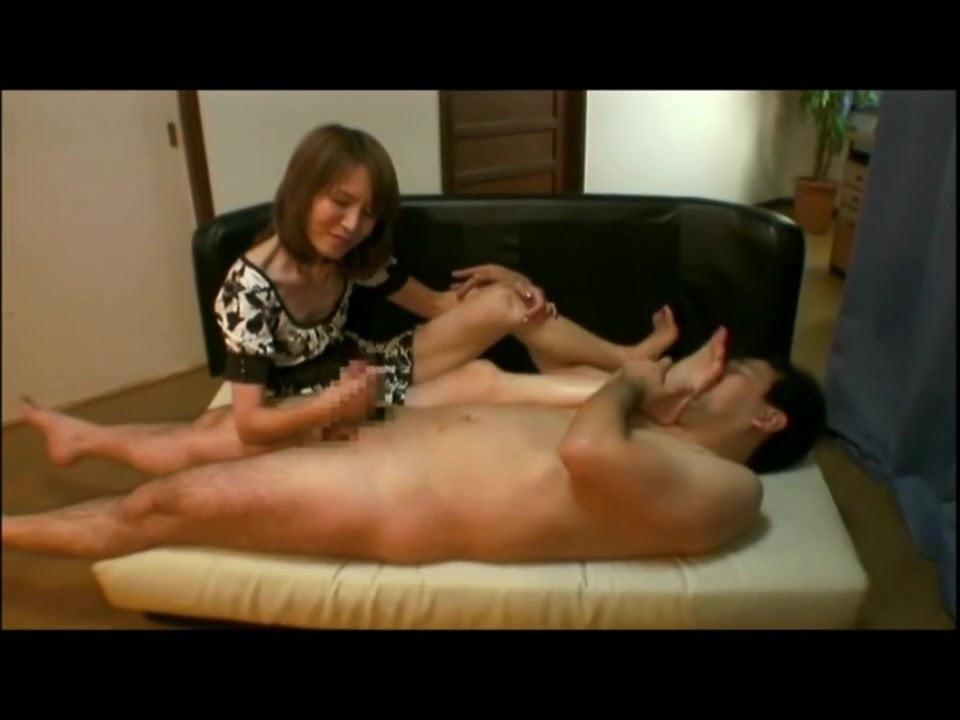 Asian Foot Worship Handjob