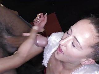 Preview 6 of Isabella Her First Bukkake Party