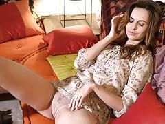Ukrainian brunette Nasita