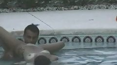 teen girl fucked by the pool