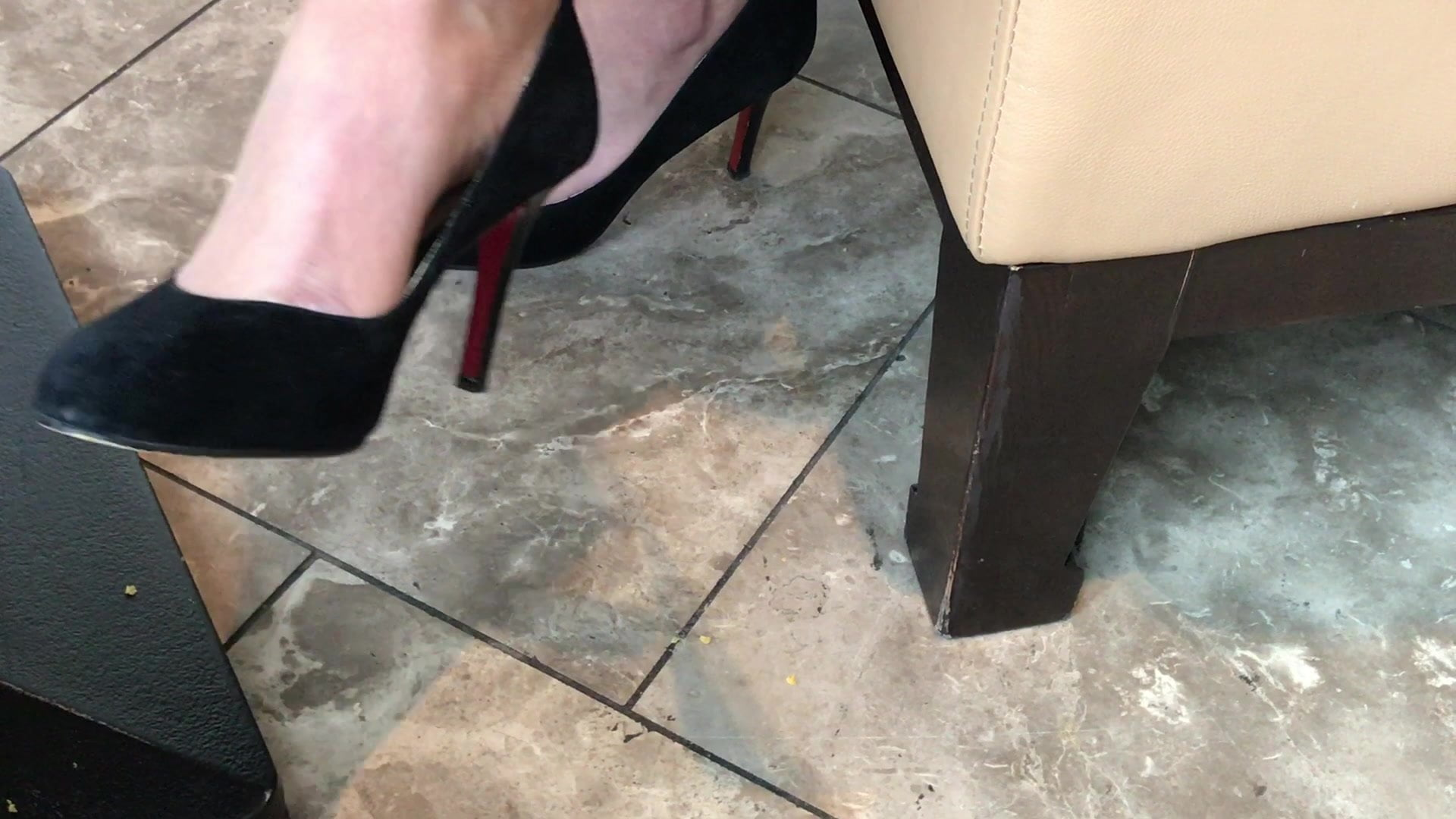 Squirting Orgasm High Heels