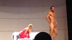 Naked on the show