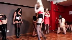 Five Mistress Ballbusting