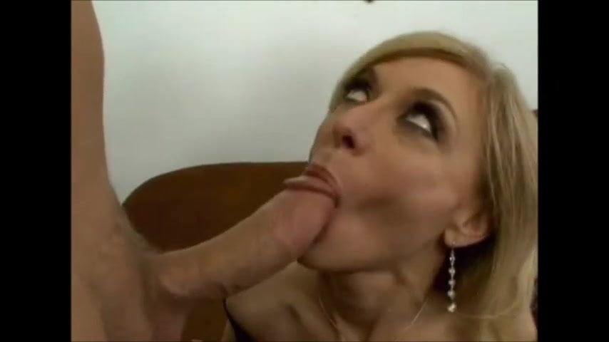 Blonde Blowjob Cum Mouth