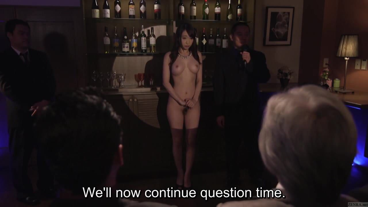 Subtitles kurea hasumi wife slave auction begins