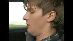 Teen BottomBois Car Ride to Heaven.