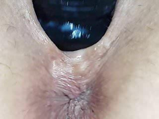 Creamy dildo play 2