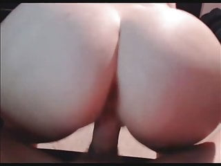 Amateur fuck from behind and cum on ass