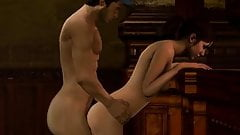 Ellis and Zoey spanking and sex PART 2