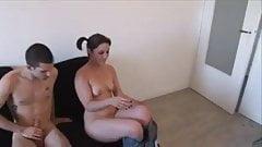 Clara fucks just to disturb her room mate