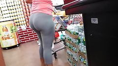 grey tights at supermarket