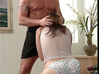 Horny chick spreads her legs for cock