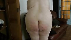 Three Short Clips of my Pretty Wife's Bare Bum