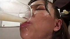 DRINKERS SEMEN : Yoko Sakurai
