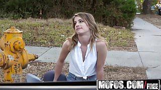 Mofos - Stranded Teens - Kristens Long Legs and Multiple Org
