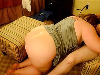 PAWG getting Cumshot on her ass from xHamster friend