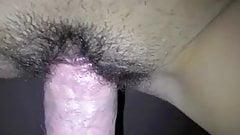 Close up wife sex